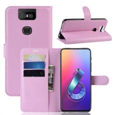Luurinetti ZenFone 6 ZS630KL Flip Wallet Pink