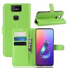 Luurinetti ZenFone 6 ZS630KL Flip Wallet Green