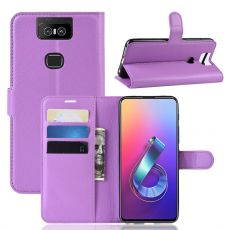 Luurinetti Zenfone 6 ZS630KL Flip Wallet Purple
