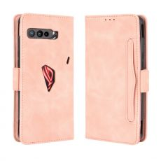 LN 5card flip wallet ROG Phone 3 pink