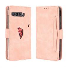 LN 5card flip wallet ROG Phone 3 pink