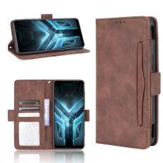 LN 5card flip wallet ROG Phone 3 brown