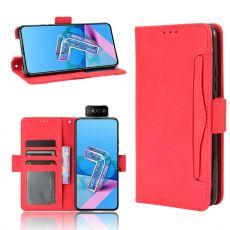 LN 5card Flip Wallet ZenFone 7/7 Pro red