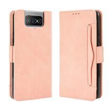 LN 5card Flip Wallet ZenFone 7/7 Pro pink