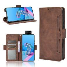 LN 5card Flip Wallet ZenFone 7/7 Pro brown