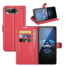 LN Flip Wallet ROG Phone 5 red