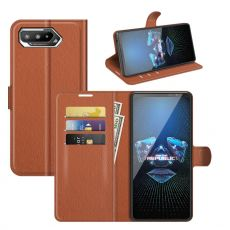 LN Flip Wallet ROG Phone 5 brown