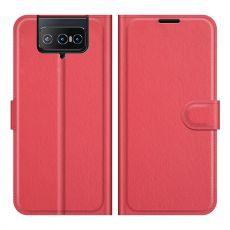 LN Flip Wallet ZenFone 8 Flip red