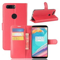 Luurinetti Flip Wallet OnePlus 5T red