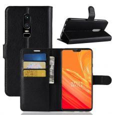 Luurinetti Flip Wallet OnePlus 6 black