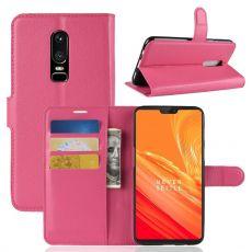 Luurinetti Flip Wallet OnePlus 6 rose