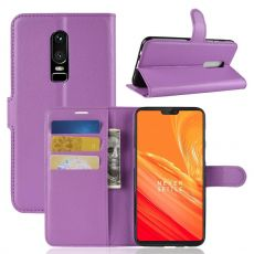 Luurinetti Flip Wallet OnePlus 6 purple