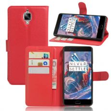 Luurinetti OnePlus 3/3T Flip Wallet red
