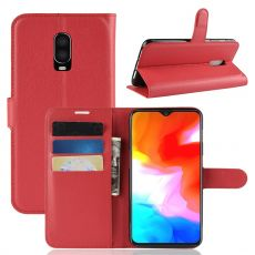 Luurinetti Flip Wallet OnePlus 6T red
