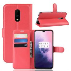 Luurinetti Flip Wallet OnePlus 7 Red