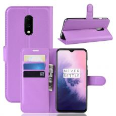 Luurinetti Flip Wallet OnePlus 7 Purple