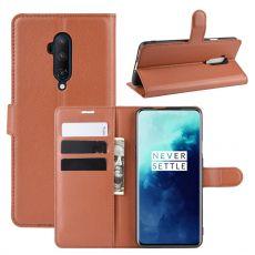 LN Flip Wallet OnePlus 7T Pro brown