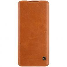Nillkin Qin Flip Cover OnePlus 7T Pro brown