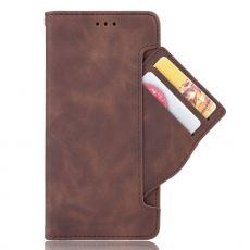 LN 5card Flip Wallet OnePlus 8 Pro Brown