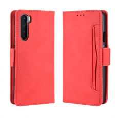 LN 5card Flip Wallet OnePlus Nord Red