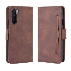 LN 5card Flip Wallet OnePlus Nord Brown