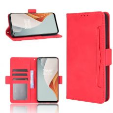 LN 5card Flip Wallet OnePlus Nord N100 Red