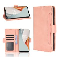 LN 5card Flip Wallet OnePlus Nord N100 Pink
