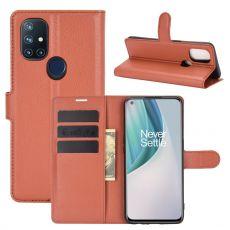 LN Flip Wallet OnePlus Nord N10 5G Brown