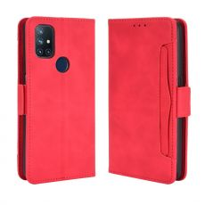LN 5card Flip Wallet OnePlus Nord N10 5G Red