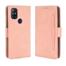 LN 5card Flip Wallet OnePlus Nord N10 5G Pink