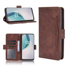 LN 5card Flip Wallet OnePlus Nord N10 5G Brown