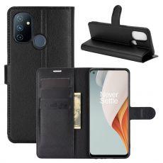 LN Flip Wallet OnePlus Nord N100 Black