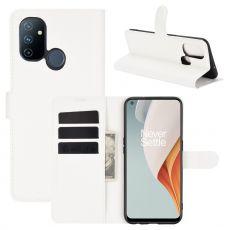 LN Flip Wallet OnePlus Nord N100 White