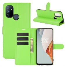 LN Flip Wallet OnePlus Nord N100 Green