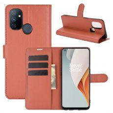 LN Flip Wallet OnePlus Nord N100 Brown