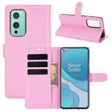 LN suojalaukku OnePlus 9 pink