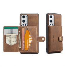 Jeehood suojakuori irroitettavalla korttikotelolla OnePlus 9 Pro brown