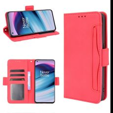LN 5card Flip Wallet OnePlus Nord CE 5G red