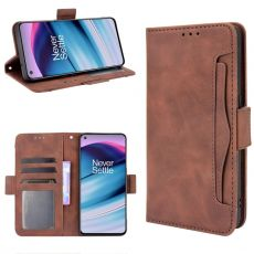 LN 5card Flip Wallet OnePlus Nord CE 5G brown
