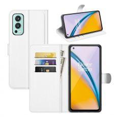 LN Flip Wallet OnePlus Nord 2 5G white