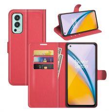 LN Flip Wallet OnePlus Nord 2 5G red