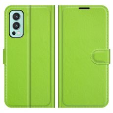 LN Flip Wallet OnePlus Nord 2 5G green