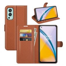 LN Flip Wallet OnePlus Nord 2 5G brown