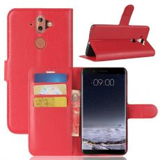 Luurinetti Flip Wallet Nokia 8 Sirocco red