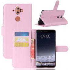 Luurinetti Flip Wallet Nokia 8 Sirocco pink