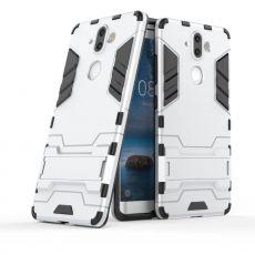 Luurinetti suojakuori tuella Nokia 8 Sirocco silver