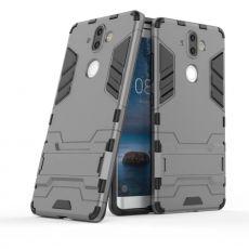 Luurinetti suojakuori tuella Nokia 8 Sirocco grey