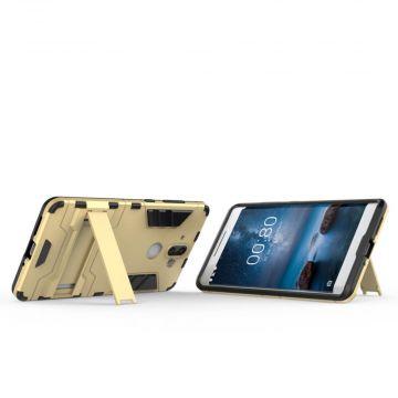 Luurinetti suojakuori tuella Nokia 8 Sirocco gold