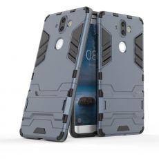 Luurinetti suojakuori tuella Nokia 8 Sirocco dark blue