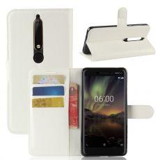 Luurinetti suojalaukku Nokia 6.1 white